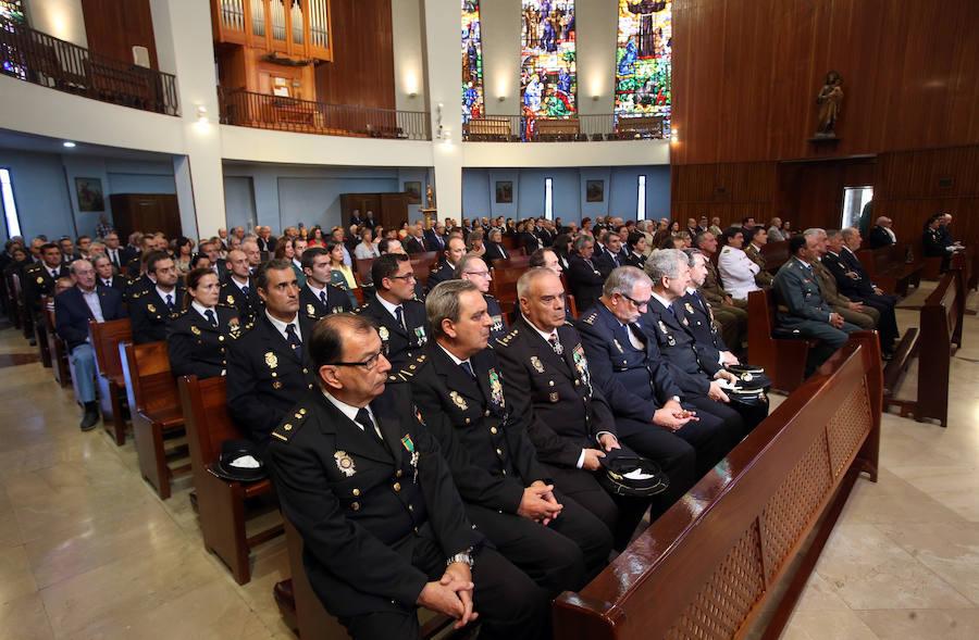 La Policía Nacional celebra la festividad de los Ángeles Custodios