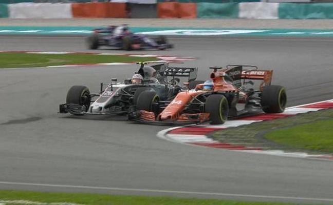 Alonso a Magnussen: «Eres un idiota»