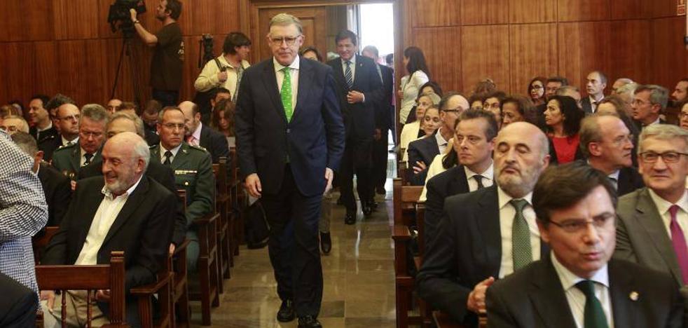 Vidau: «La justicia en Asturias es buena»