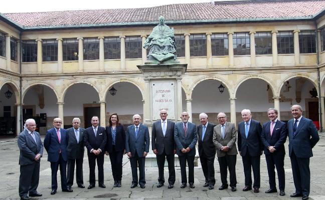 El Consejo Consultivo del banco, al completo