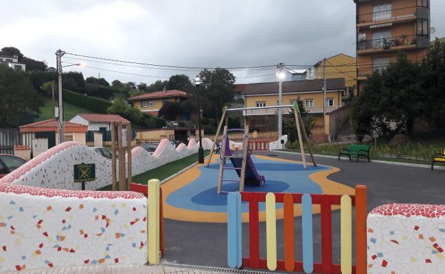 Finalizada la segunda fase del parque de El Carbayu, en Candás