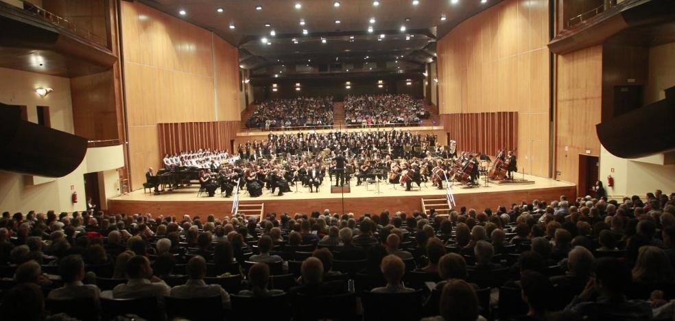 El Ayuntamiento limita de forma cautelar el aforo del Auditorio a 1.500 espectadores