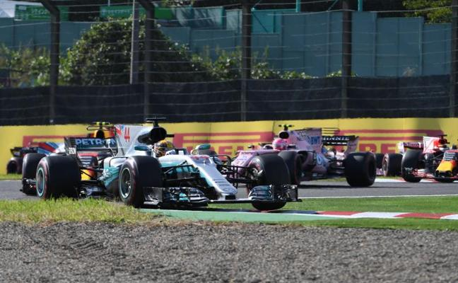 Así se las ponían a Lewis Hamilton