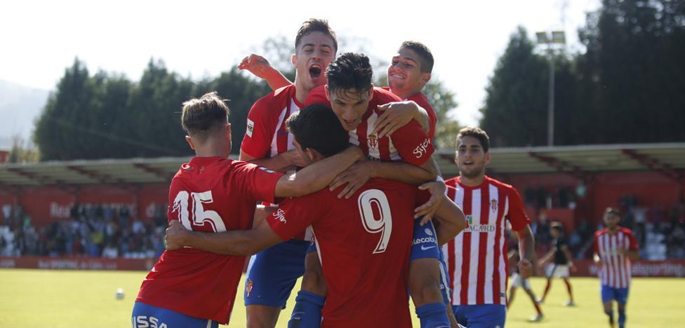 El Sporting B se mantiene firme en Mareo (1 - 0)