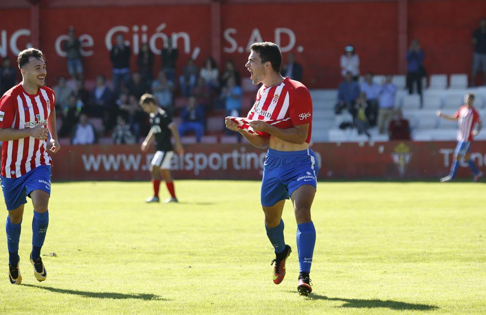 Sporting B 1 - 0 Vitoria, en imágenes
