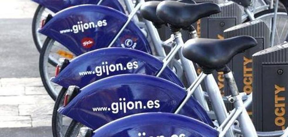 El PP de Gijón denuncia deficiencias en el servicio de préstamo de bicicletas
