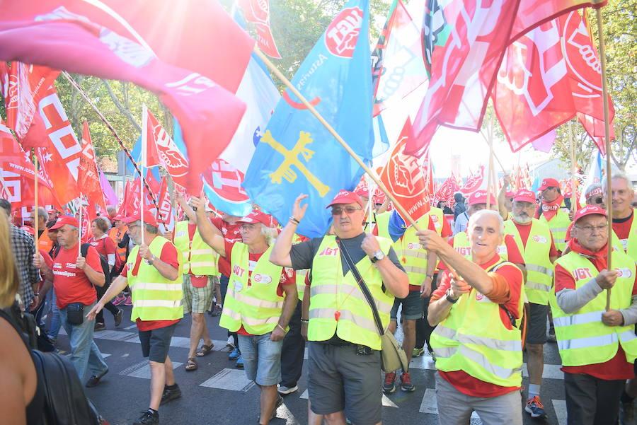 Asturias, en la marcha por las pensiones
