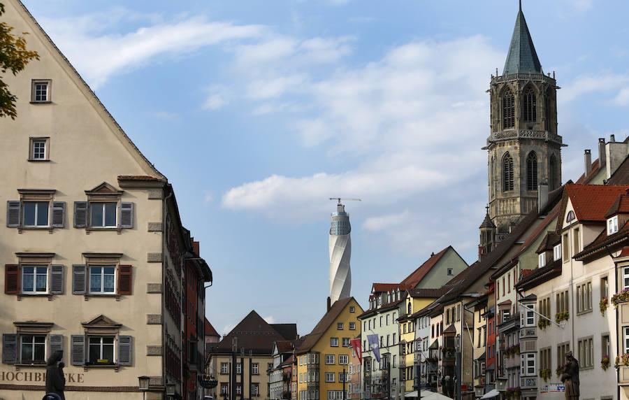 Así son los ascensores gijoneses para el mirador más alto de Alemania