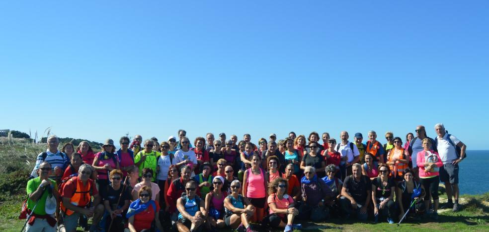 Los Amigos del Camino de Santiago recorren 41 kilómetros en Cantabria