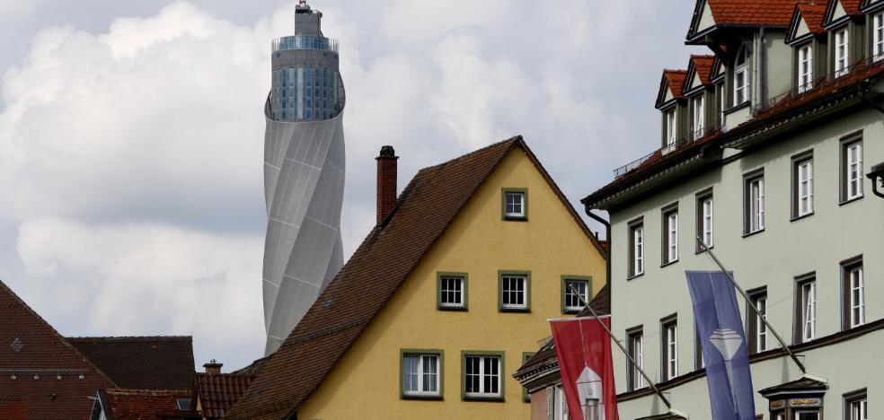Ascensores gijoneses para el mirador más alto de Alemania