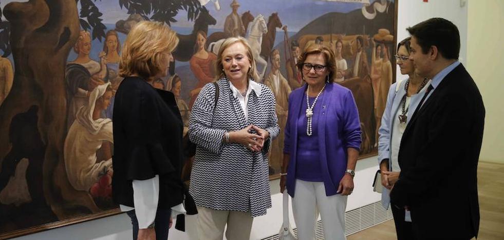 Mercedes Fernández pide un «esfuerzo presupuestario» para impulsar el Museo de Bellas Artes