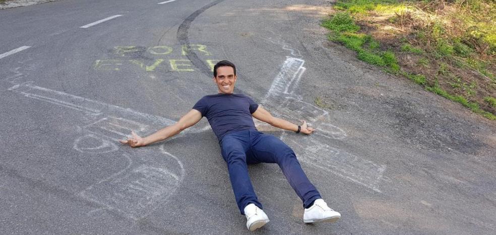 Contador regresa a L'Angliru