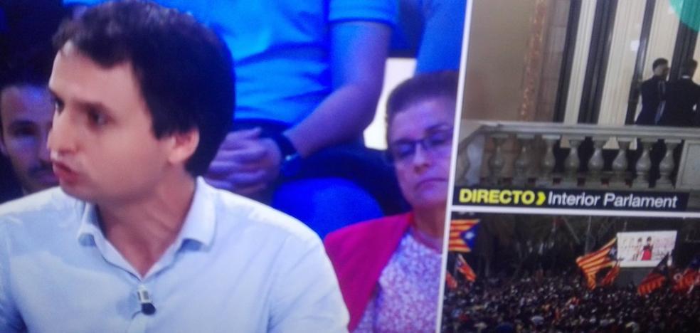 Una señora del público se duerme en directo en 'Más vale tarde'