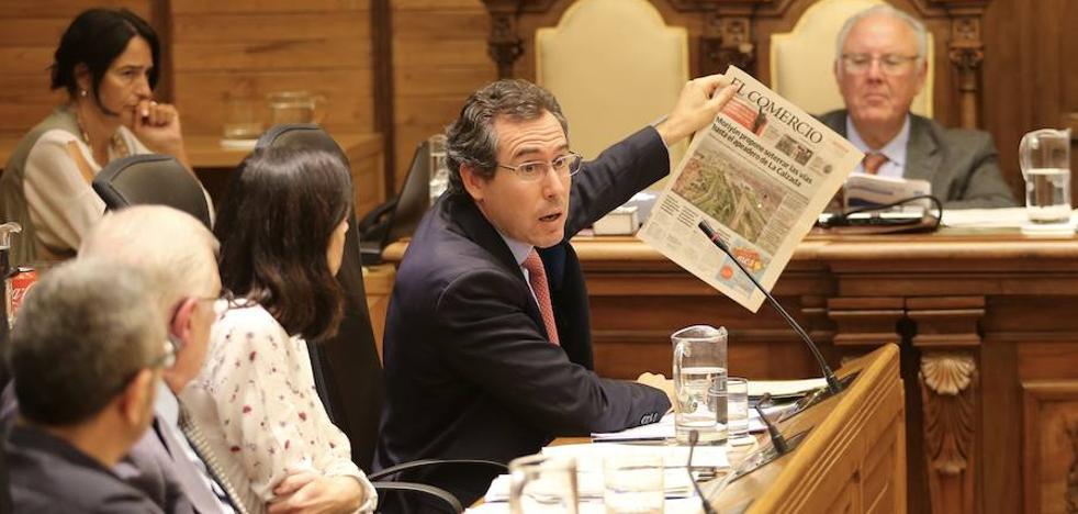 Fomento acepta soterrar las vías en Gijón hasta el apeadero de La Calzada