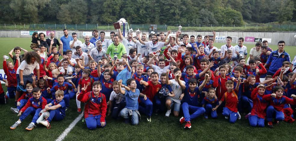 El Langreo gana la Copa Federación en la tanda de penaltis