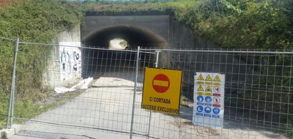 El Ayuntamiento de Siero estudia permitir el paso de coches por el túnel de Paredes