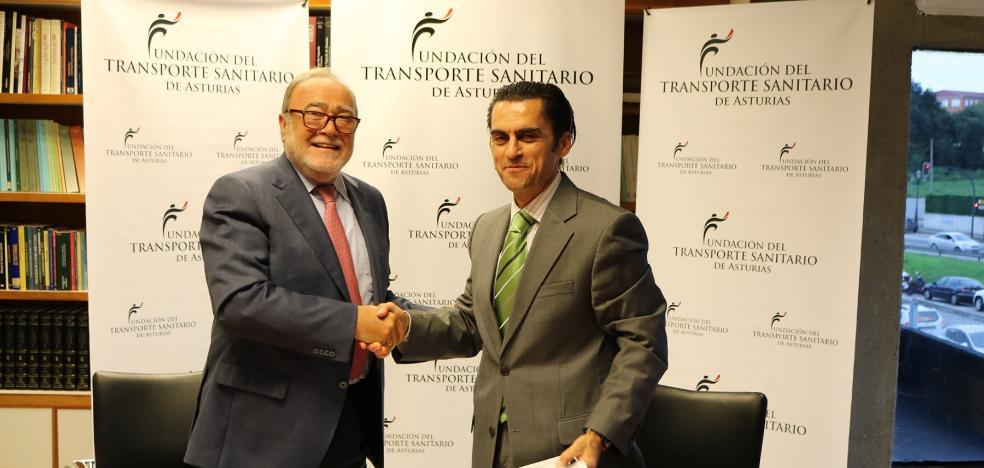 Acuerdo de la Fundación del Transporte Sanitario y la Academia de Medicina