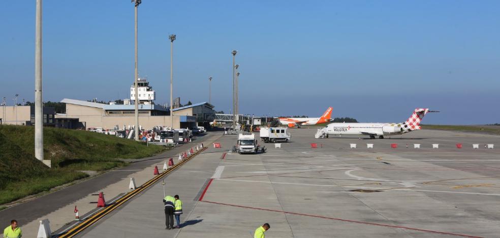 El aeropuerto supera el millón de viajeros