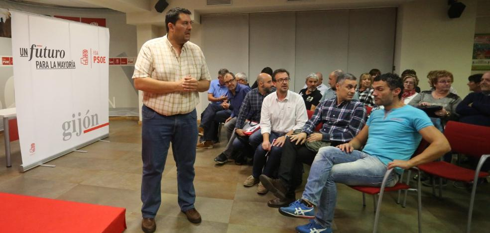 «El PSOE de Gijón necesita un cambio de equipos, ideas y funcionamiento»