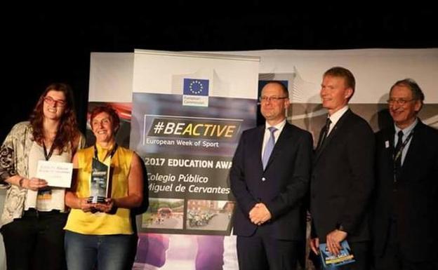 El Miguel de Cervantes gana el Premio BeActive