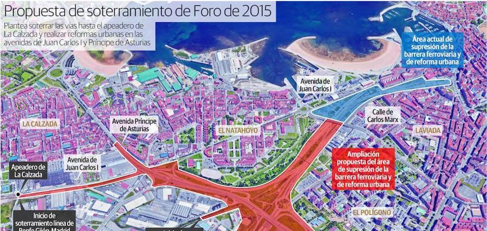 Fomento asumirá la ampliación del soterramiento de las vías hasta La Calzada