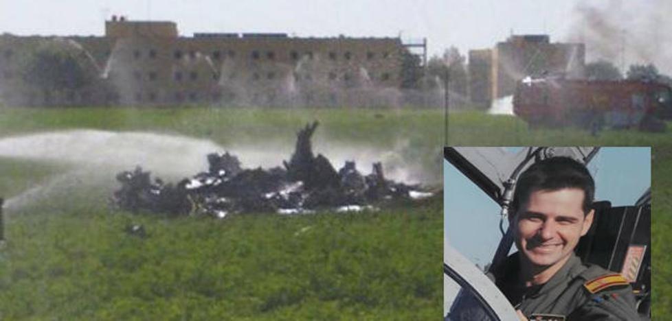 Muere el piloto de un Eurofighter al estrellarse en Albacete después de participar en el desfile militar