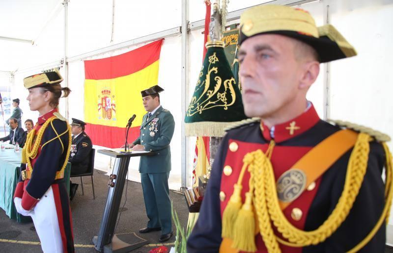 Así celebró Gijón el Día de la Hispanidad