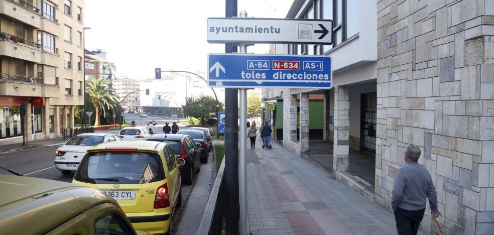 Iniciativa pol Asturianu apoya la rotulación en bable de las señales urbanas