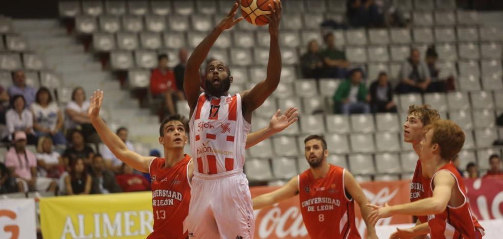 El Fundación León frustra la reacción del Gijón Basket