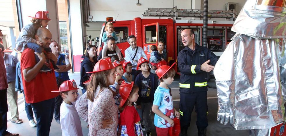 «Cuando sea mayor quiero ser bombero»