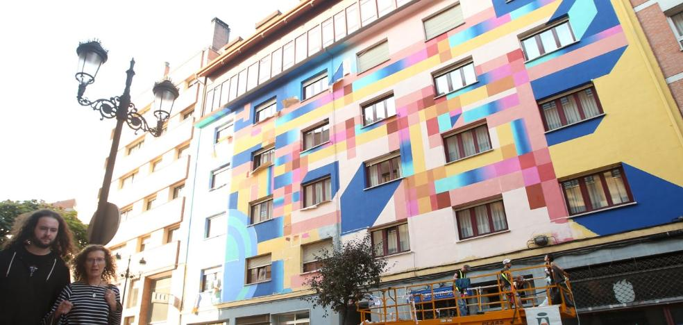 Veintitrés artistas pintarán once muros de la ciudad este fin de semana