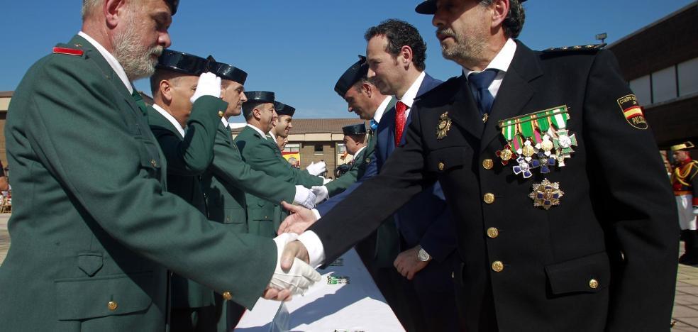 La Guardia Civil impone 48 distinciones