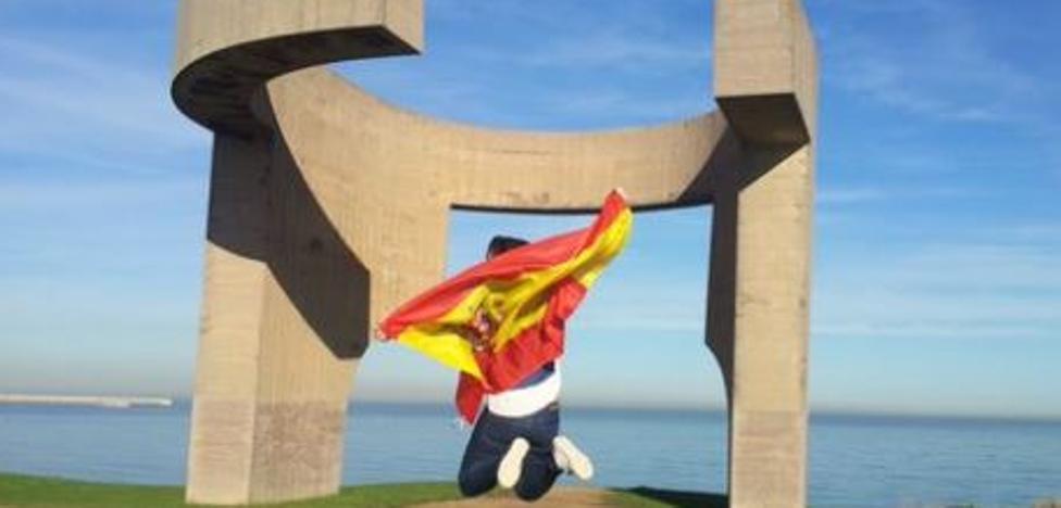 #GijónEsDeBandera: Acto por la unidad de España mañana, en la plaza del Parchís de Gijón