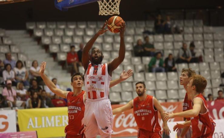Gijón Basket - ULE León, en imágenes