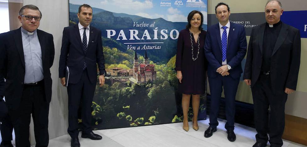 Ochenta actos programados para celebrar los Centenarios de Covadonga