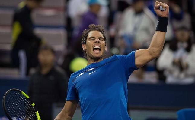 Nadal pasa a semifinales tras brillar ante un potente Dimitrov