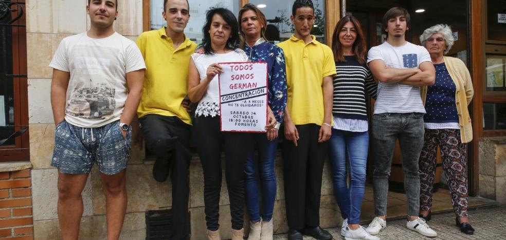 La familia de Germán estudia trasladarlo a una clínica de rehabilitación de Barcelona
