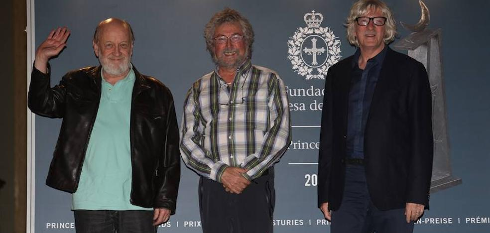 Tres de los integrantes de Les Luthiers ya están en Asturias