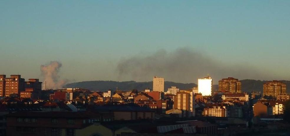 La ausencia de lluvias dispara la contaminación en Gijón