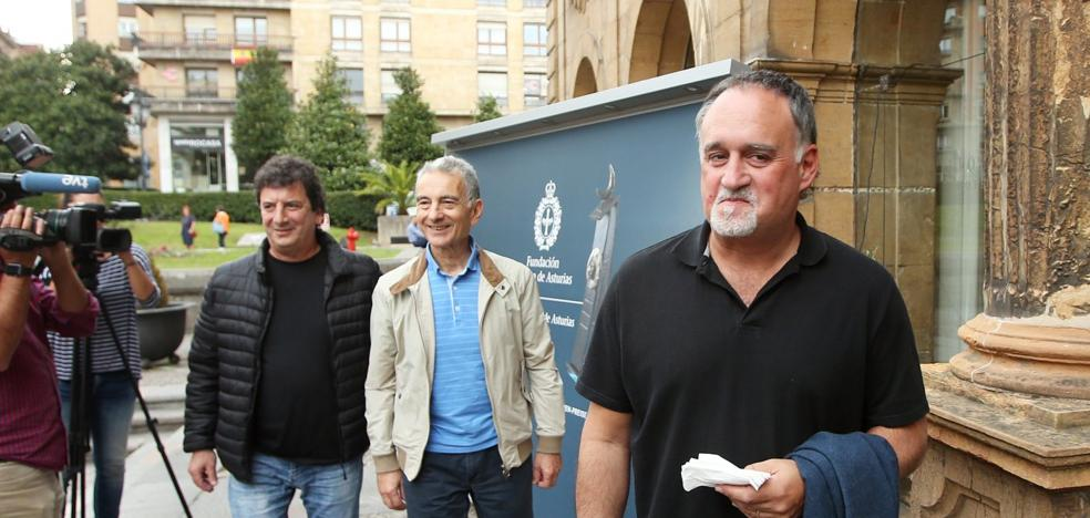 Los otros tres luthiers ya están también en Asturias