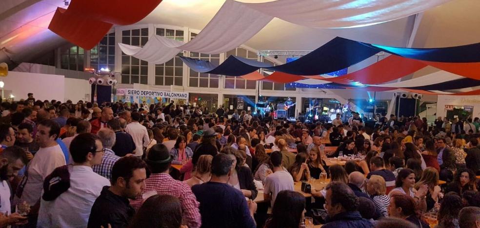 El Oktoberfest cumple su objetivo con una media diaria de 1.500 asistentes