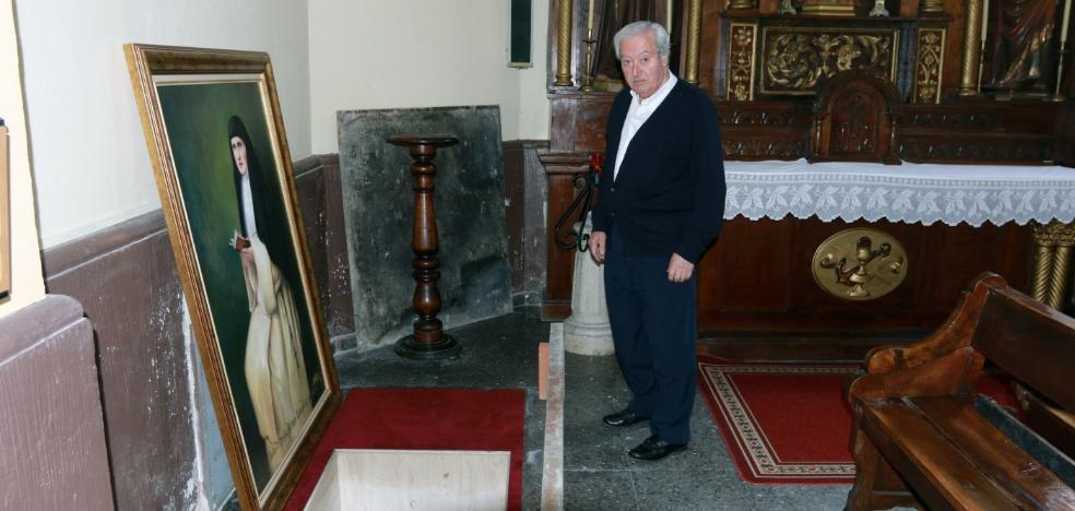 La iglesia de Nembra se prepara para recibir los restos de sus mártires