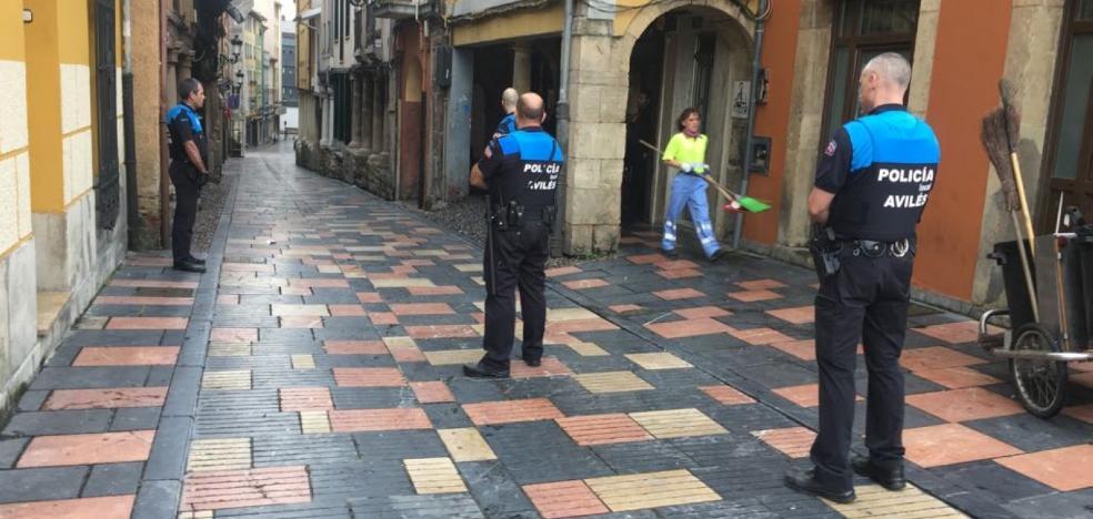 La Policía Local establece un dispositivo especial de vigilancia en Sabugo