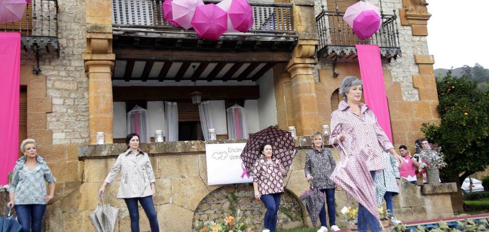 Un espectacular desfile en Cangas con el que ayudar a la investigación contra el cáncer