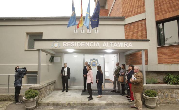 Las imágenes de la inauguración de la Residencia Altamira en Oviedo
