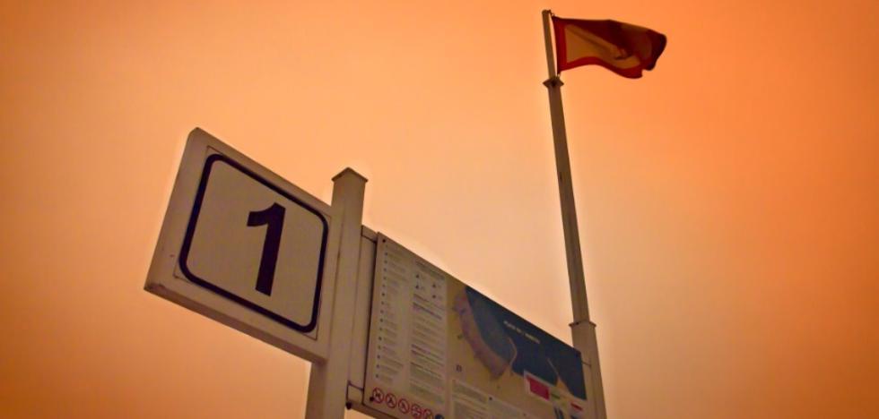 Las fotos que tomaron los asturianos del 'no amanecer'