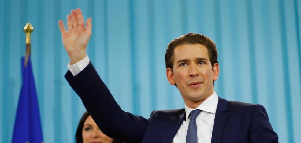 Austria da un vuelco a la derecha con la victoria del conservador Kurz