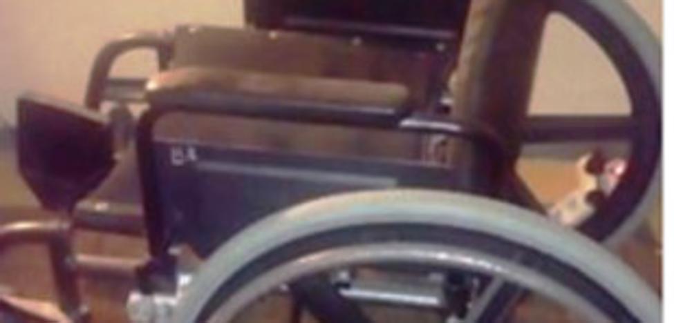 Imputada por intentar vender una silla de ruedas del Hospital de Navarra
