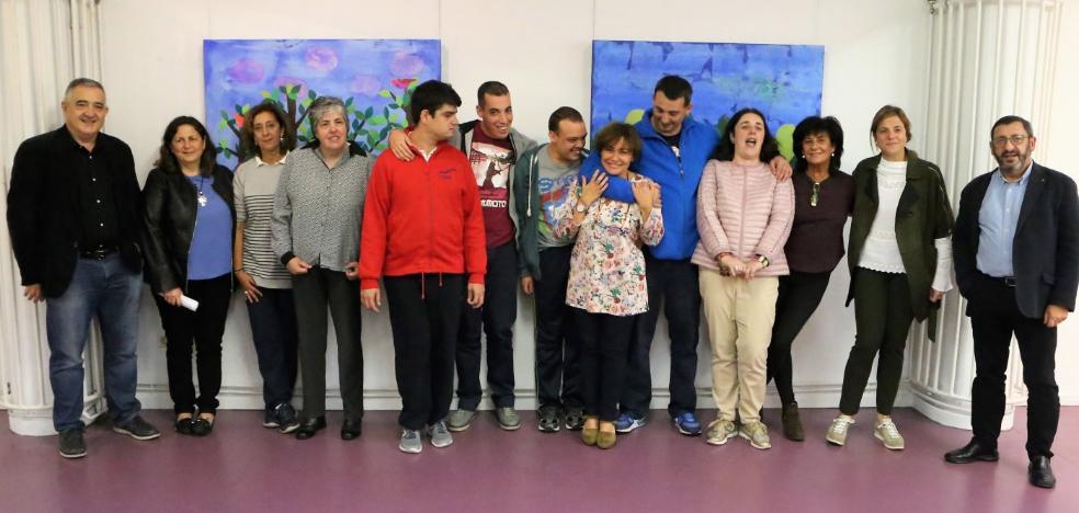 Usuarios de La Arboleya de Meres exponen en Lugones