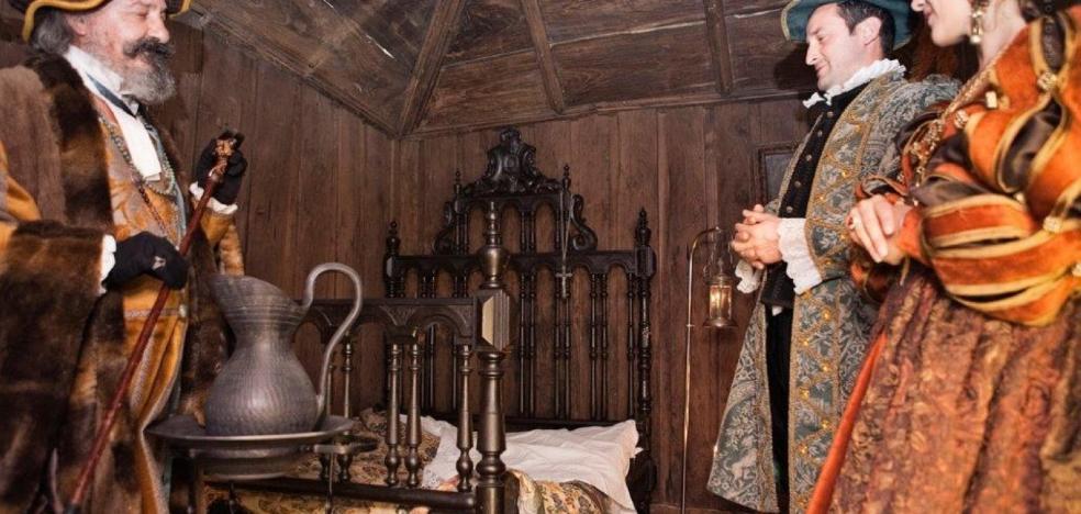 La Casa de los Hevia abre al público a partir del jueves la alcoba de Carlos V